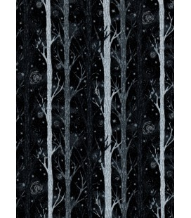 Trees. Black