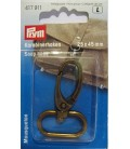 Dark gold snap hook Prym