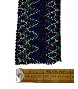 Elástico azules 6 cm