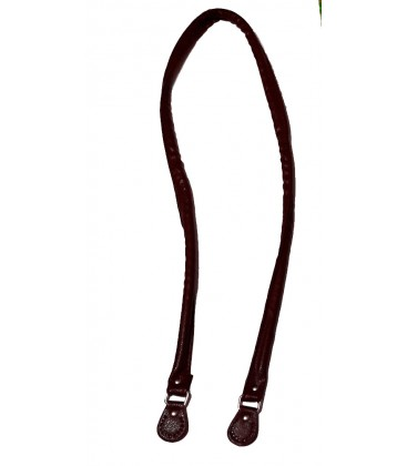 Asa de bolso imi-piel marrón 106 cm