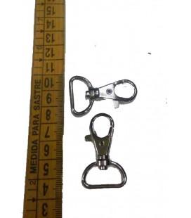 Silver  snap hook 2,5 cm