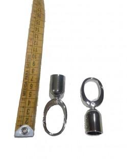 Nickel snap hook chain