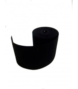 Elástico negro 20 cm