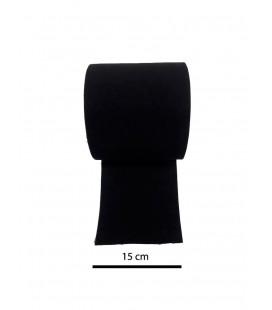 Black elastic 15 cm