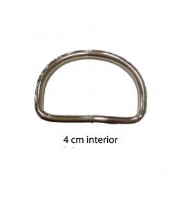 Round metal piece 4 cm