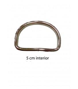 Round metal piece 5 cm