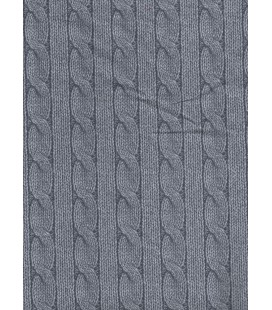 Back gray fabric quilt