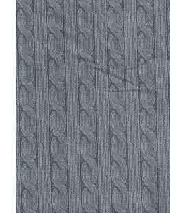 Trasera trenza gris