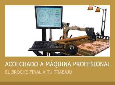 Acolchado a máquina profesional